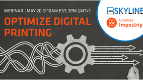 Webinar: How to optimize your digital printing with Skyline and Ultimate Impostrip