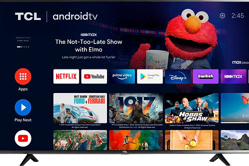 "TCL - 55"" Class 4 Series LED 4K UHD Smart Android TV"
