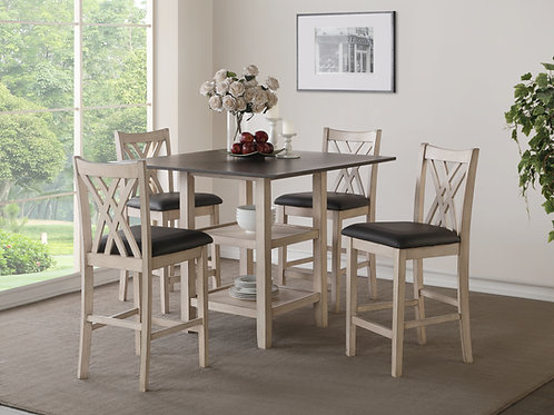 5PC PAIGE COUNTER DINING RM