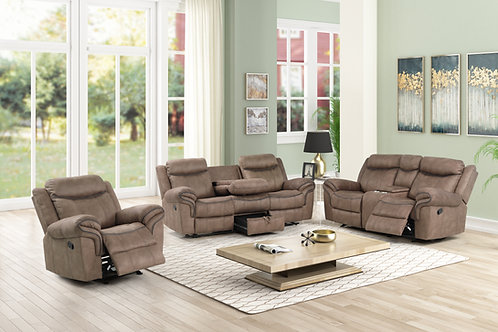 HARLEY GLIDER LOVE & DOUBLE RECLINGING SOFA
