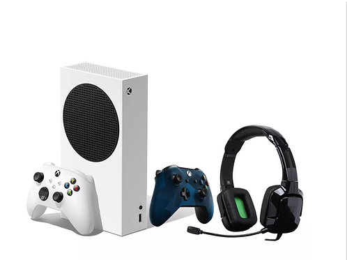 Xbox Series S Bundle-2 Controllers & Headset