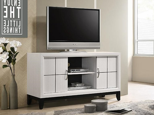 AKERSON WHITE TV STAND