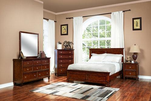 6PC Tamarack Cherry Queen Bedroom