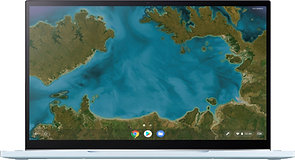 """ASUS - 2-in-1 14"""" Touch-Screen Chromebook - Intel Core m3"""