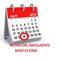 26 abril 2016 retroactividad cláusula suelo Regalón Abogados Barcelona
