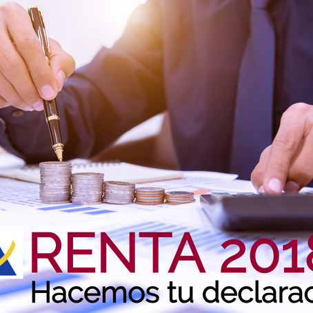 DOCUMENTACIÓN RENTA 2018