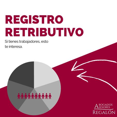 REGISTRO RETRIBUTIVO O SALARIAL