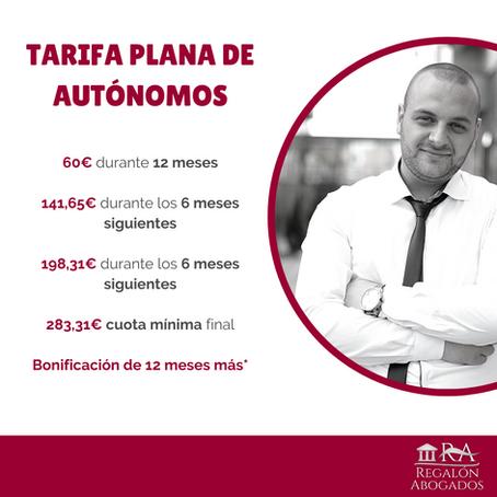 TARIFA PLANA DE AUTÓNOMOS