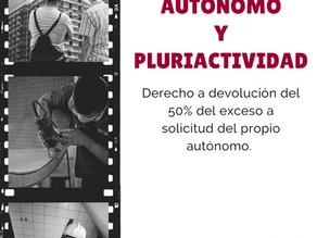 EL AUTÓNOMO Y LA PLURIACTIVIDAD