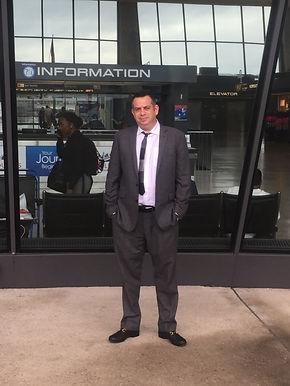 Danny Cohen at Dulles