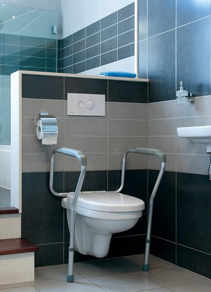台灣高度可調座廁扶手架