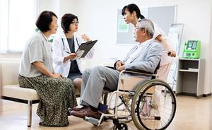 家人的支持及中風後生活細節上對患者的協助