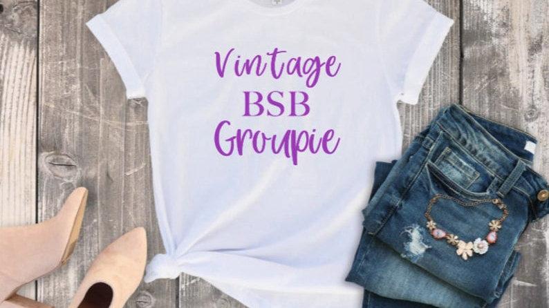 Vintage Boy Band Groupie Shirt