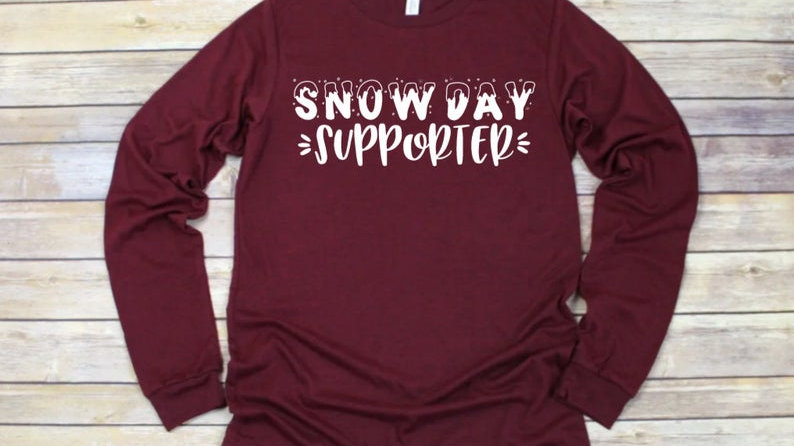 Snow Day Supporter