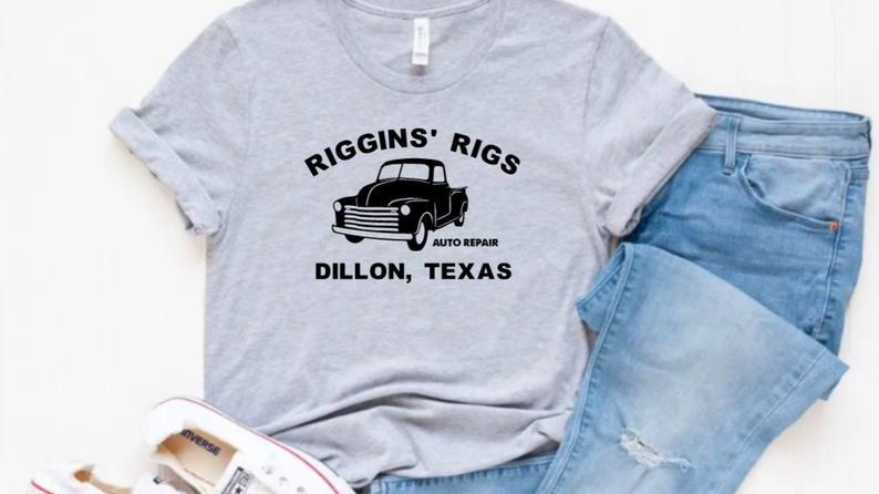 Riggins' Rigs T-shirt- Friday Night Lights-