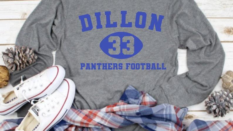 Dillon Panther Football Shirt- Friday Night Lights- Tim Riggins