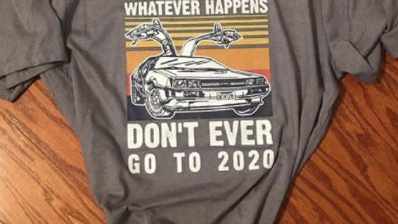 Marty don't go to 2020 Tshirt