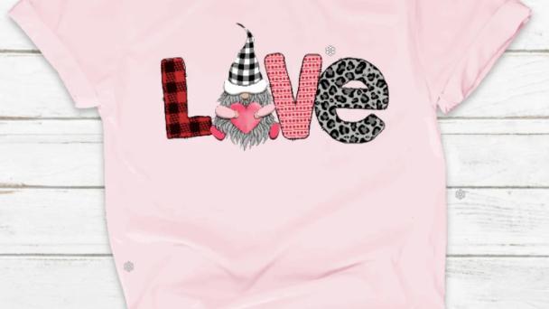 Love with Gnomes Tshirt