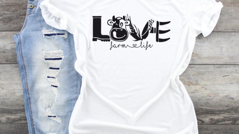 Love Farm Life Tshirt