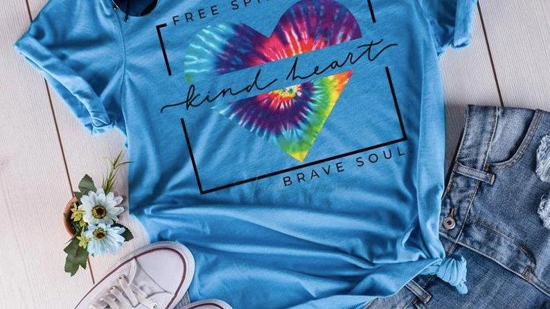 Free Spirit- Kind Heart- Brave Soul