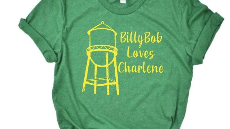 Billy Bob Loves Charlene 90's country music -shirt