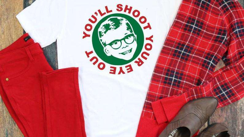 You'll Shoot your Eye Out Full Color Tshirt