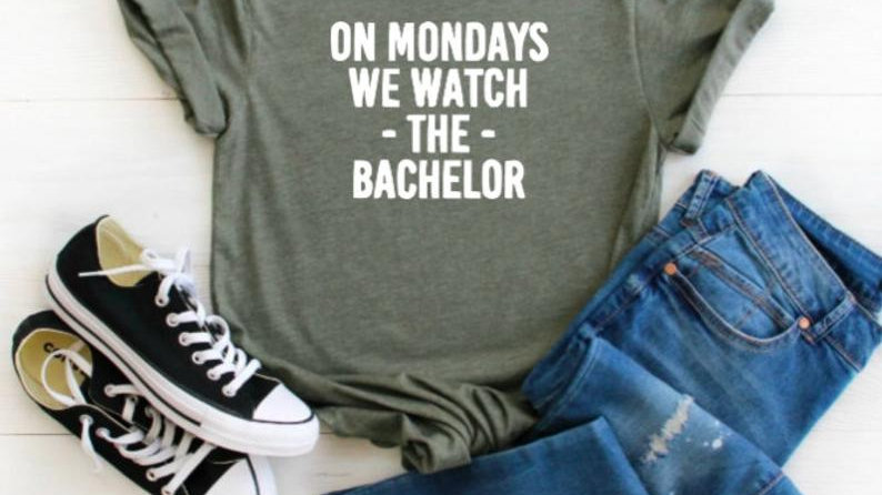On Mondays we watch the Bachelor