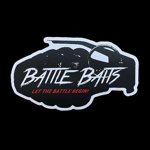 Battle Baits Outdoor Decal Sticker!