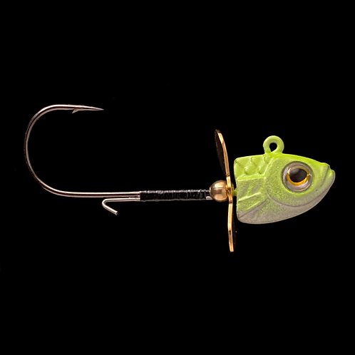 Chartreuse Pearl (Gold Blades)