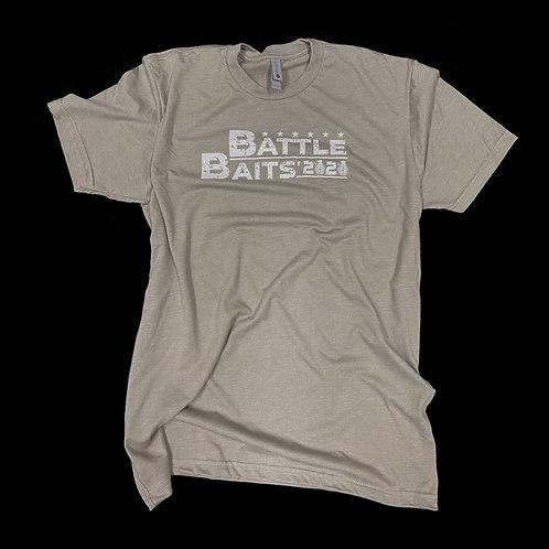 """Battle Baits 2020"" Sand Stone Tee-Shirt"
