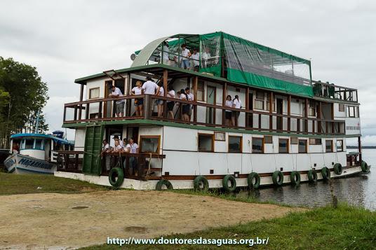 Barco usado na Expedição