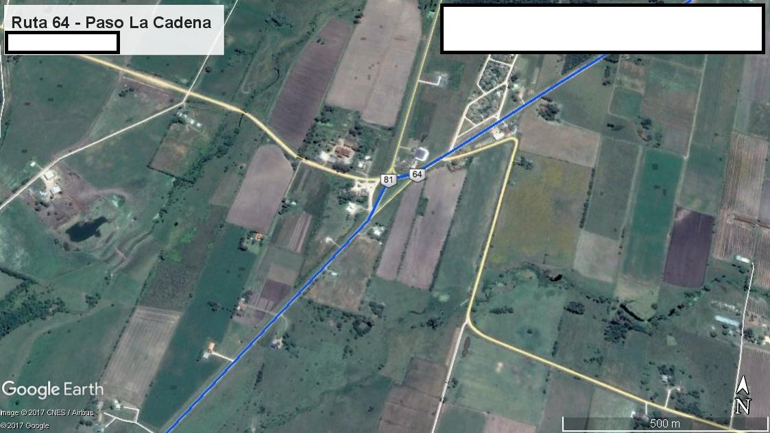 Z4 - Recorrido Parte 3 (Ruta 64 - Paso de la Cadena)