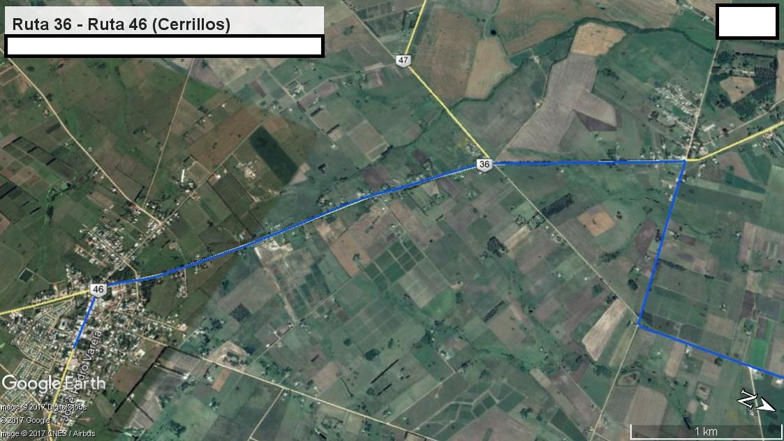 Z3 - Recorrido Aguas Corrientes a Cerrillos por Campo Militar  - Parte 7 (Ruta 36 - Ruta 46 (Cerrill