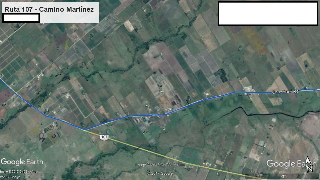 Z5 - Recorrido Parte 2 (Ruta 107 - Camino Martínez)