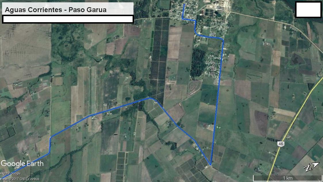 Z3 - Recorrido Aguas Corrientes a Cerrillos por Campo Militar  - Parte 5 (Aguas Corrientes - Paso Ga