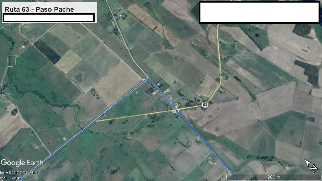 Z1 - Recorrido Canelones por Paso Pache - Parte 2 (Ruta 63 - Paso Pache)