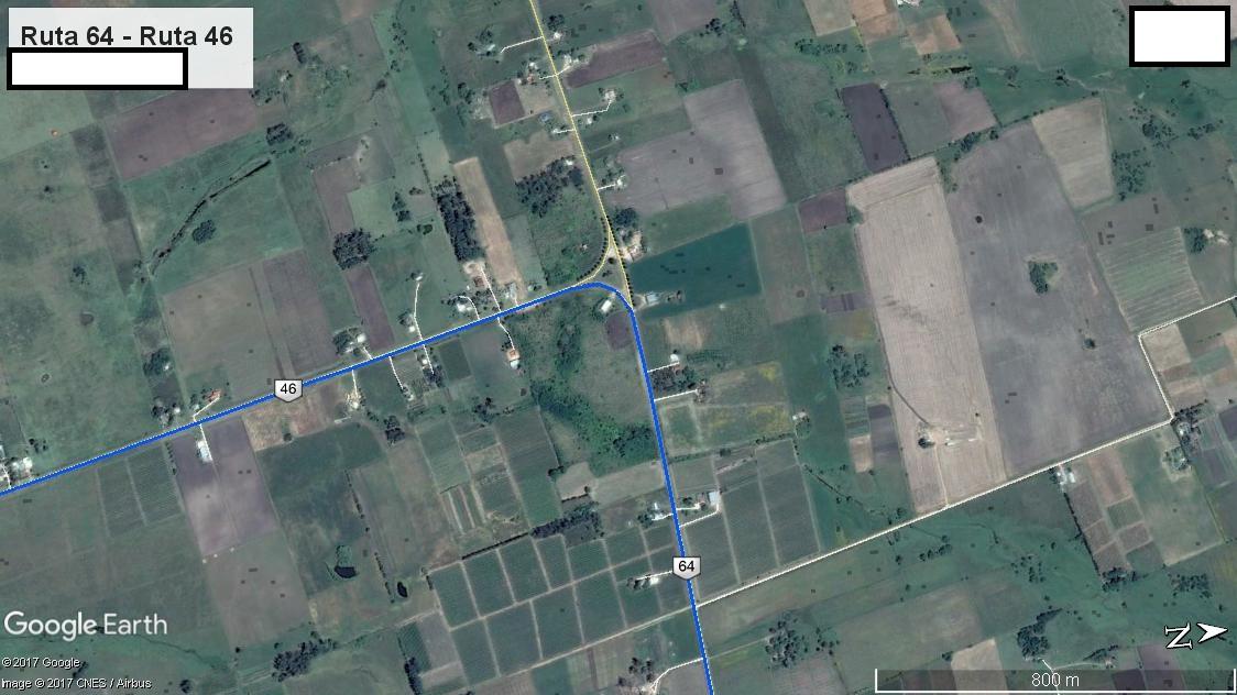 Z3 - Recorrido Cerrillos por Ruta 46 - Parte 2 (Ruta 46 - Ruta 64)