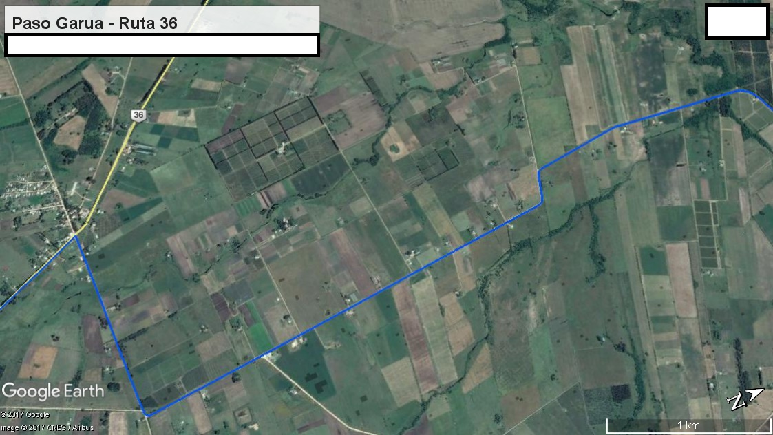 Z3 - Recorrido Aguas Corrientes a Cerrillos por Campo Militar  - Parte 6 (Paso Garua - Ruta 36)