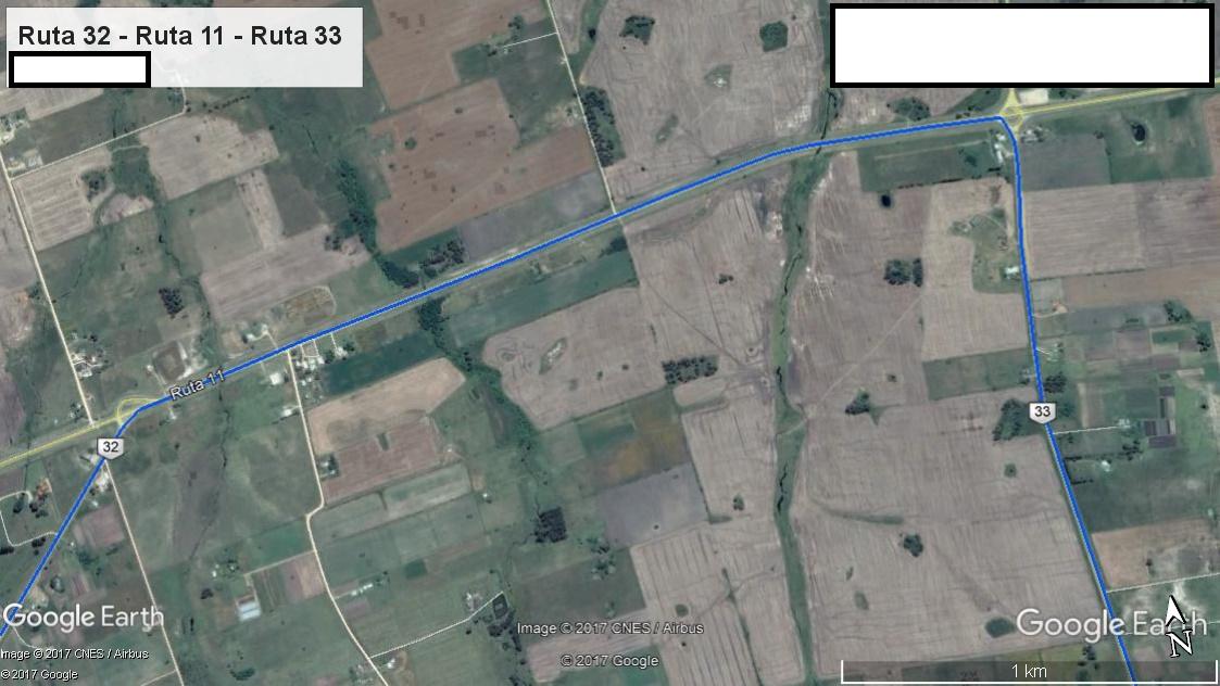 Z5 - Recorrido Parte 4 (Ruta 32 - Ruta 11 - Ruta 33)