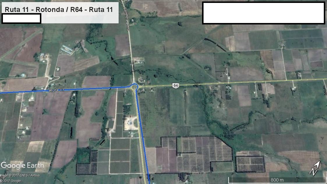 Z2 - Recorrido Parte 8 (Ruta 11 - Rotonda R64 - Ruta 11)