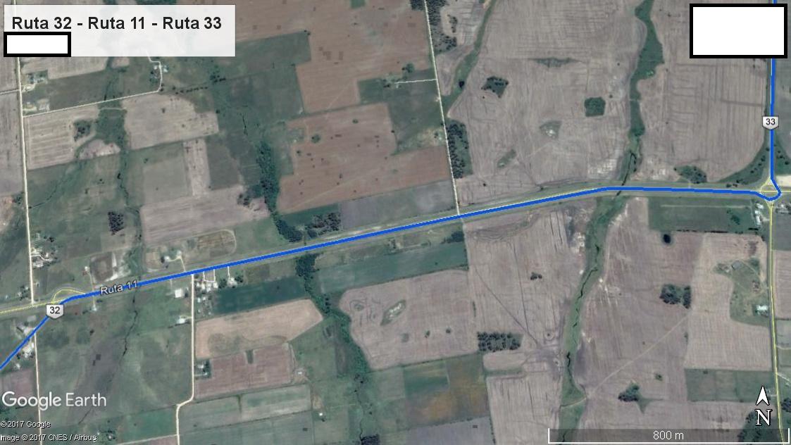 Z4 - Recorrido Parte 3 (Ruta 32 - Ruta 11 - Ruta 33)