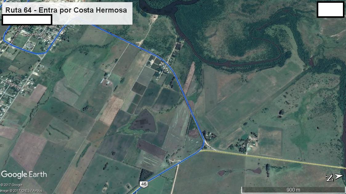 Z3 - Recorrido Aguas Corrientes por Costa Hermosa - Parte 3 (Ruta 46 - Entrada por Costa Hermosa)