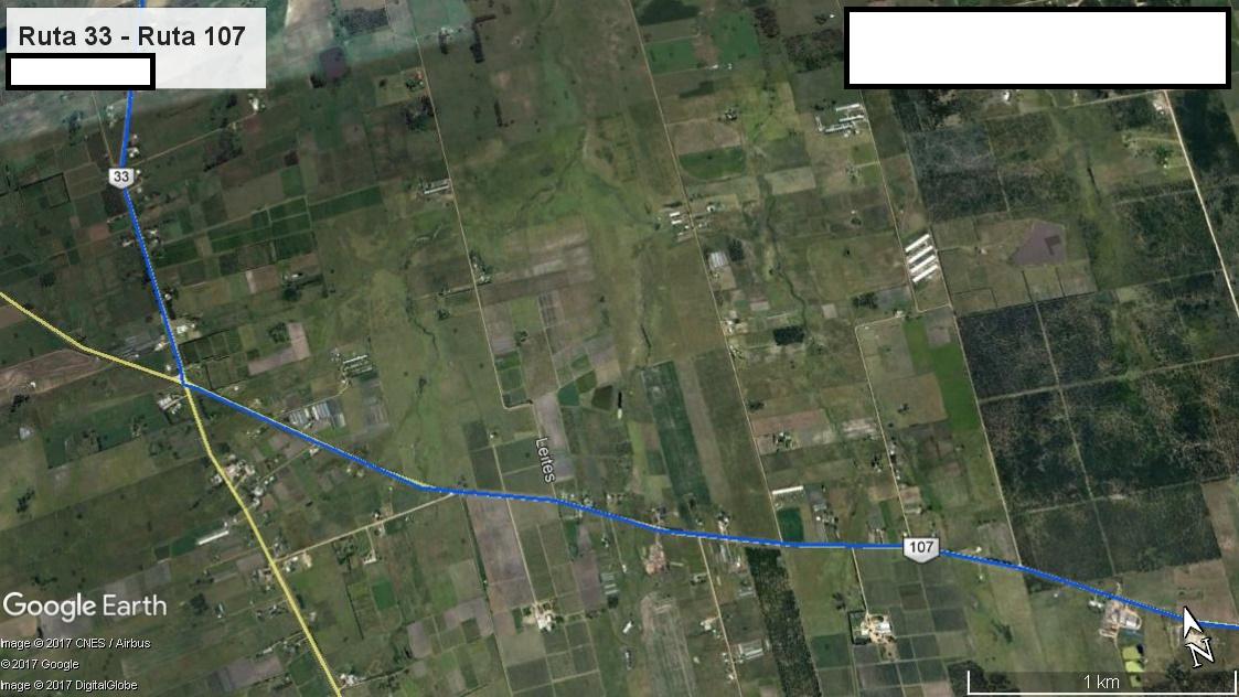 Z5 - Recorrido Parte 5 (Ruta 33 - Ruta 107)