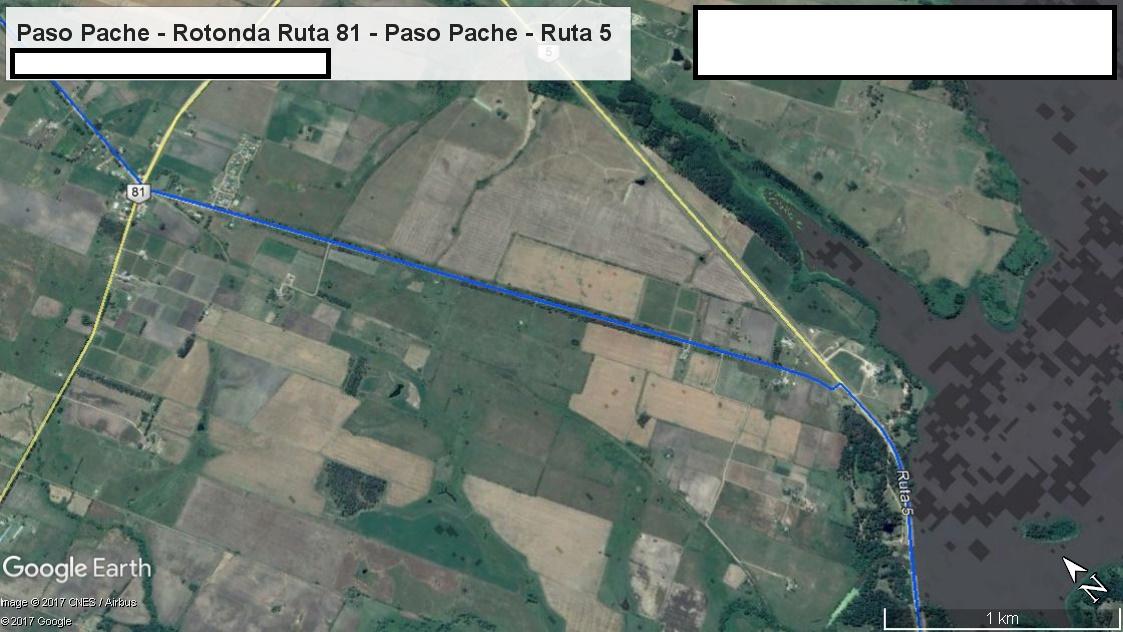 Z1 - Recorrido Canelones por Paso Pache - Parte 3 (Paso Pache - Rotonda Ruta 81 - Paso Pache - Ruta