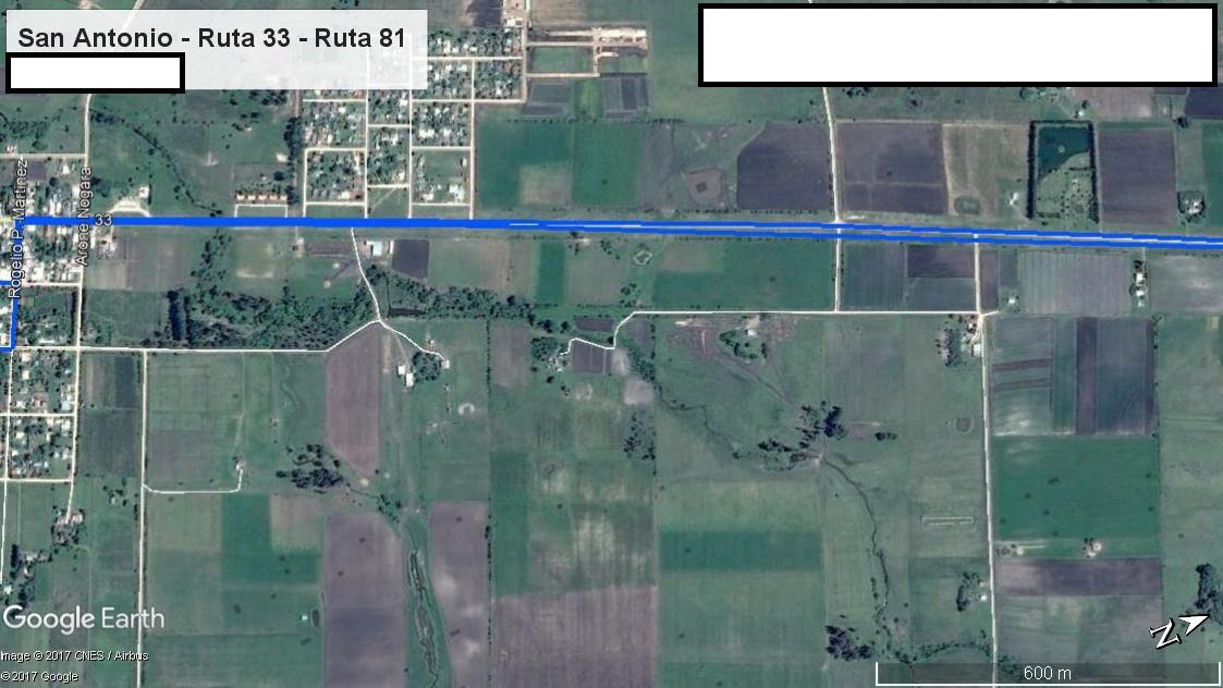 Z4 - Recorrido Parte 7 (San Antonio - Ruta 33 - Ruta 81)