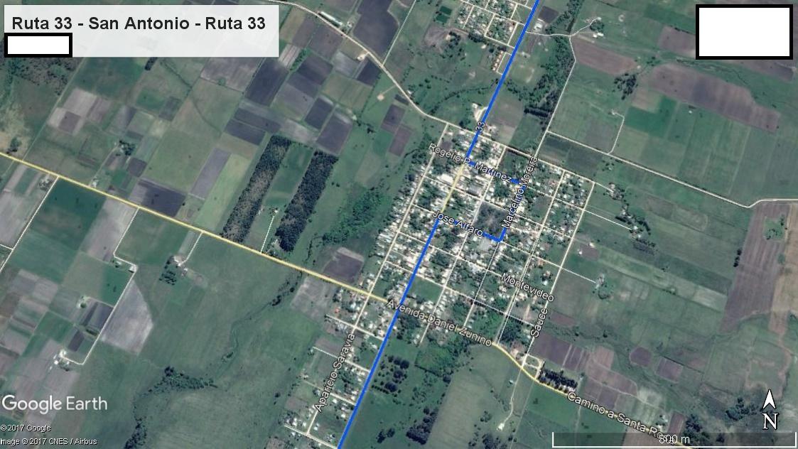 Z4 - Recorrido Parte 4 (Ruta 33 - San Antonio - Ruta 33)