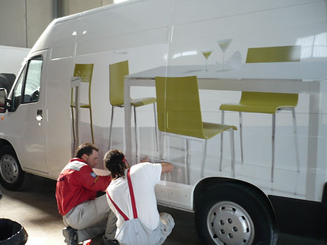 Rotulacion e impresion digital taller Galiano Crevillente
