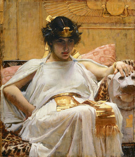 Cleopatra - John William Waterhouse