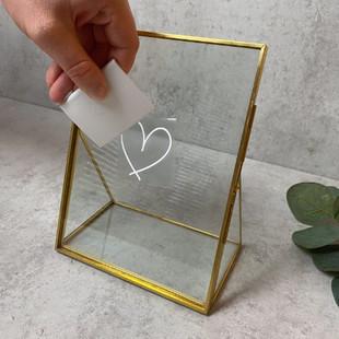 Motiv an Spiegel rakeln
