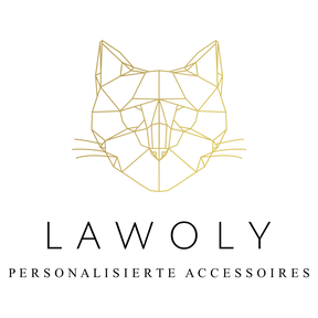 lawoly 1. Logo design katze-transparent.
